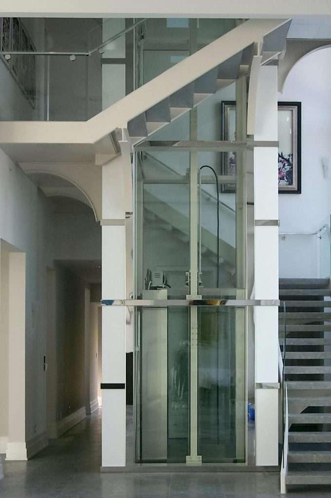 Premier cab custom residential elevator