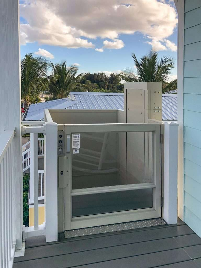 Southeast Elevator outdoor residential lift