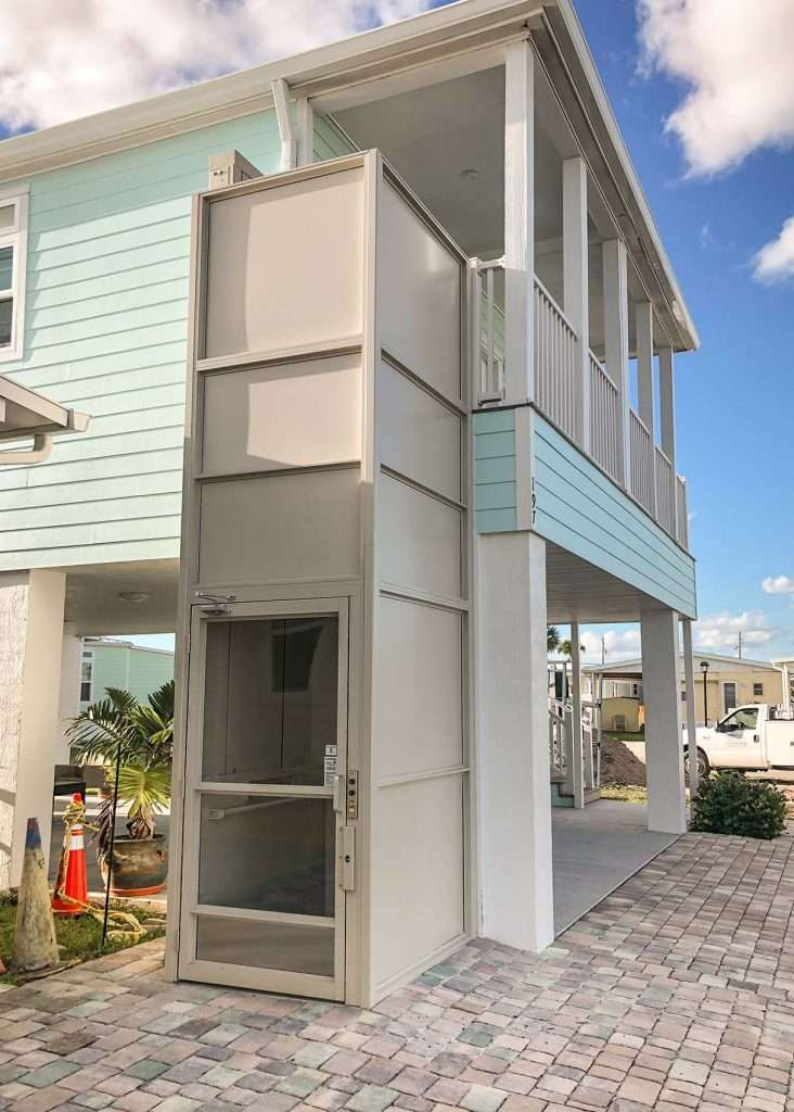 Southeast Elevator outdoor residential wheelchair lift